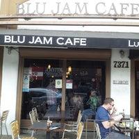 Photo taken at Blu Jam Café by Ralph S. on 4/15/2013