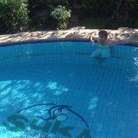 Photo taken at Suka Beach Inn by Игорь on 5/4/2015