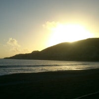 Photo taken at Pissouri Beach by Florin B. on 2/10/2013