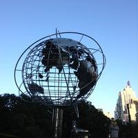 Photo taken at Columbus Circle by Nadia E. on 5/29/2013