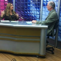 Photo taken at Rede Opinião de TV by Tatiane M. on 6/7/2013
