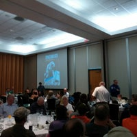 Photo taken at Dine With An Astronaut by Hans-Henrik T O. on 3/31/2014