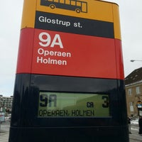 Photo taken at Bus 9A (Glostrup st. - Operaen, Holmen) by Hans-Henrik T O. on 3/24/2013