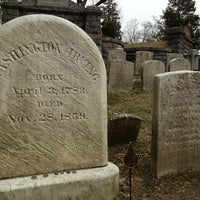 Photo taken at Washington Irving's Grave by Jim F. on 3/31/2013