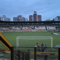 Photo taken at Estádio Heriberto Hülse by Luciano B. on 5/4/2013