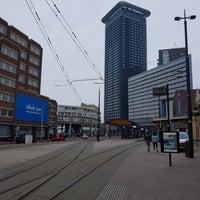 Photo taken at Tramhalte Station Hollands Spoor by Robbert V. on 3/25/2018