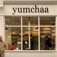 Photo taken at Yumchaa by Guru J. on 5/10/2013