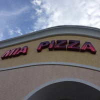 Photo taken at Mia Pizza by David M. on 7/25/2013