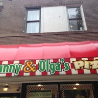Photo taken at Manny & Olga's Pizza by Puddin' on 7/24/2014