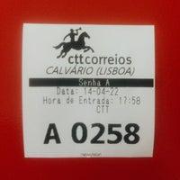 Photo taken at CTT (EC Calvario) by Tiago C. on 4/22/2014