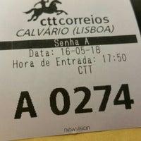 Photo taken at CTT (EC Calvario) by Tiago C. on 5/18/2016