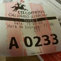 Photo taken at CTT (EC Calvario) by Tiago C. on 9/3/2015