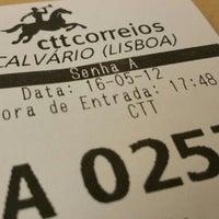 Photo taken at CTT (EC Calvario) by Tiago C. on 5/12/2016