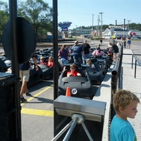 Photo taken at Big Chief's Go Carts by Bill O. on 9/15/2012