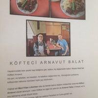 Photo taken at Köfteci Arnavut by Kübra D. on 8/2/2014