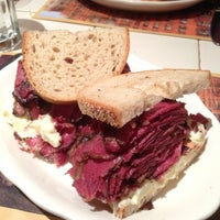 Photo taken at 2nd Ave Deli by Sean R. on 11/28/2012