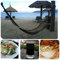 Снимок сделан в Dream Beach Cafe Invest Park пользователем Katya M. 5/2/2013