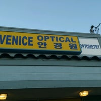 Photo taken at Venice optical by Gestre L. on 10/26/2012