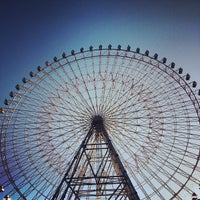 Photo taken at Tempozan Giant Ferris Wheel by Yamada on 10/3/2012