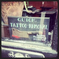 Photo taken at CJ's Tattoo by Sacha S. on 5/12/2013