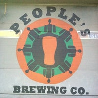 Photo taken at People's Brewing Company by Karen on 10/14/2012