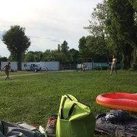 Photo taken at Strandbad Blies by Cemre K. on 5/29/2017