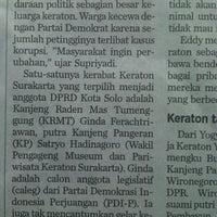 Photo taken at Jalan Raya Panglima Polim by Beltsa E. on 5/16/2014