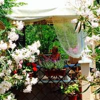 "Photo taken at Čokolaterija ""Flora Desserts"" by Lena G. on 7/5/2014"