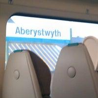 Photo taken at Aberystwyth Railway Station (AYW) by Becky F. on 12/17/2012