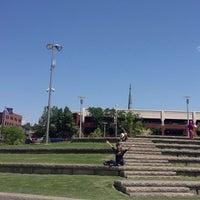 Photo taken at Riverfront Park by Gabriela on 6/14/2013
