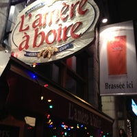 Photo taken at L'Amère à Boire by Michel on 12/22/2012