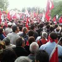 Photo taken at Tandoğan Square by Selin K. on 10/29/2012