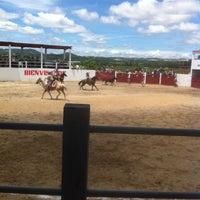 "Photo taken at Lienzo Charro ""Capilla de Guadalupe"" by Alex on 8/3/2013"
