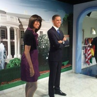 Photo taken at Madame Tussauds by Aleso on 6/5/2013