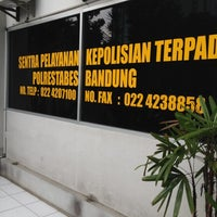 Photo taken at Polwiltabes Bandung by bayu a. on 12/5/2012