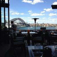 Photo taken at Café Sydney by Ritwik R. on 12/5/2012