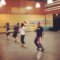 Photo taken at Foothill College Dance Studio by Aaron K. on 10/4/2012