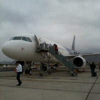 Photo taken at Aeropuerto La Florida (LSC - SCSE) by María Jesús B. on 1/18/2013