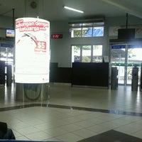 Photo taken at Departure Hall Ferry Terminal Batam Centre by Novita S. on 5/16/2013