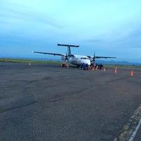 Photo taken at Aeropuerto Perales (IBE) by Ivan G. on 11/30/2014