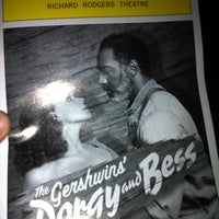 Photo taken at Porgy & Bess on Broadway by Jaron on 9/21/2012