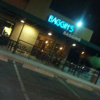 Photo taken at Baggin's Gourmet Sandwiches by Ryan D. on 3/10/2013