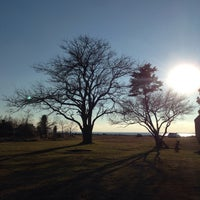 Photo taken at Point Lookout State Park by Youli on 2/21/2015