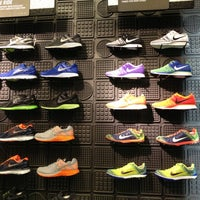 Photo taken at Niketown Los Angeles by Mary P. on 11/1/2012