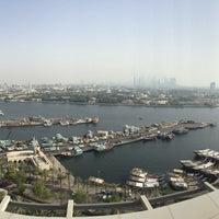 Photo taken at Hilton Dubai Roof Pool by Josh B. on 6/15/2015