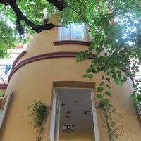 Photo taken at Garden House Hostel Barcelona by Feetup Hostels Spain on 7/8/2014