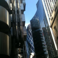 Photo taken at Lloyd's of London by Andrew M. on 9/29/2012