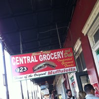 Photo taken at Central Grocery Co. by Chris K. on 11/24/2012