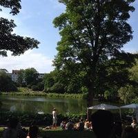 Photo taken at Ørstedsparken by Gionata E. on 6/8/2014