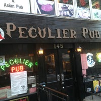 Photo taken at Peculier Pub by Victoria on 1/19/2013